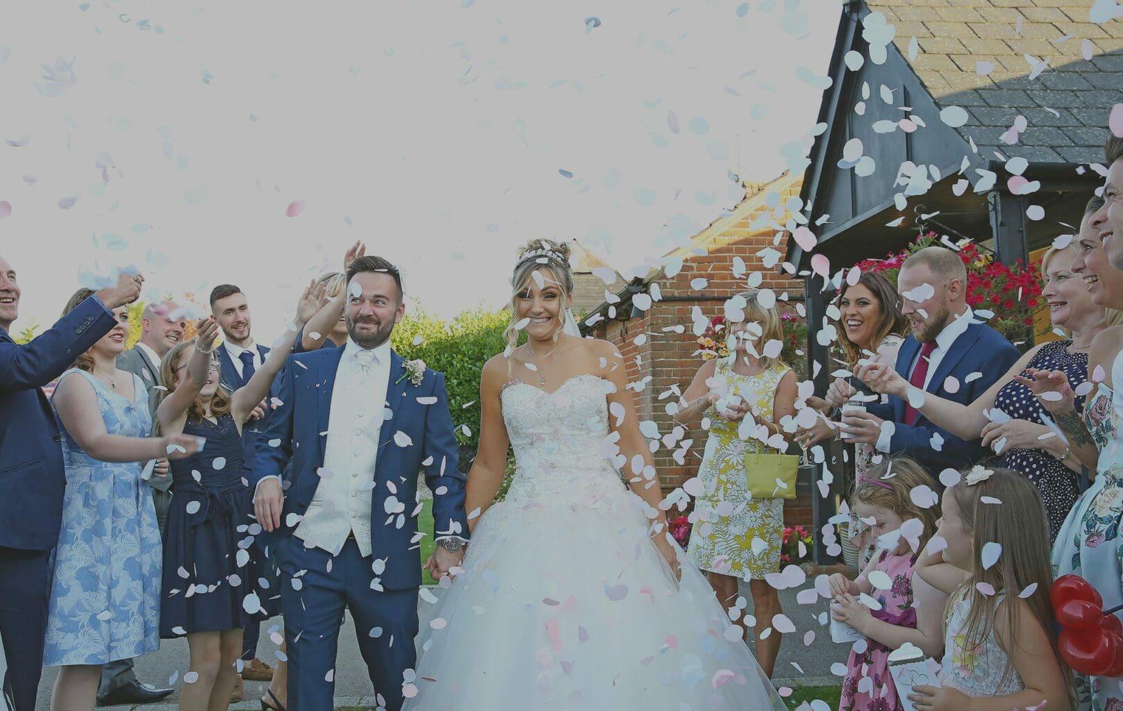 Carolyn Clarke Wedding Photographer Confetti