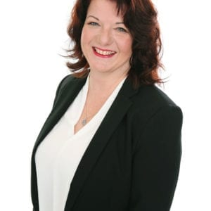 Womens professional business head shot